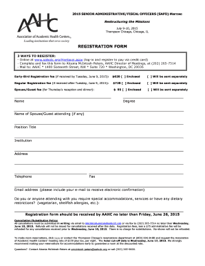 Fillable Online aahcdc aspx (login and register to pay via