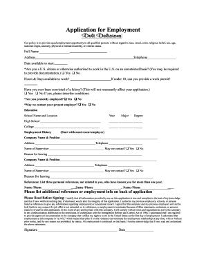 16 Printable job applications forms to print Templates