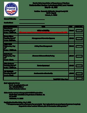 Fillable Online Florida State Association of Supervisors