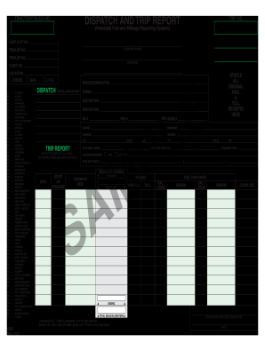 Printable truck driver accident report form template
