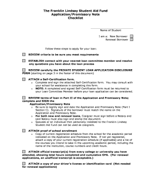 Submit student loan disclosure requirements Samples in PDF ...