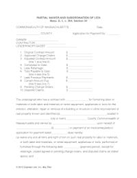 Massachusetts Waiver Lien Form - Fill Online, Printable ...