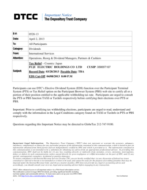 Fillable Online FUJI ELECTRIC HOLDINGS CO LTD Fax Email