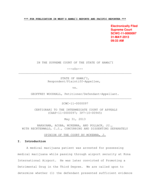 Fillable Online courts state hi *** FOR PUBLICATION IN