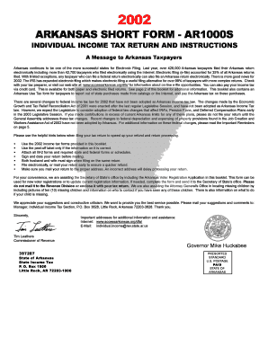 Fillable Online 1_AR1000S Instructions.pmd Fax Email Print