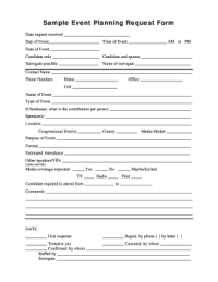 Event Consultation Request Form - Fill Online, Printable ...