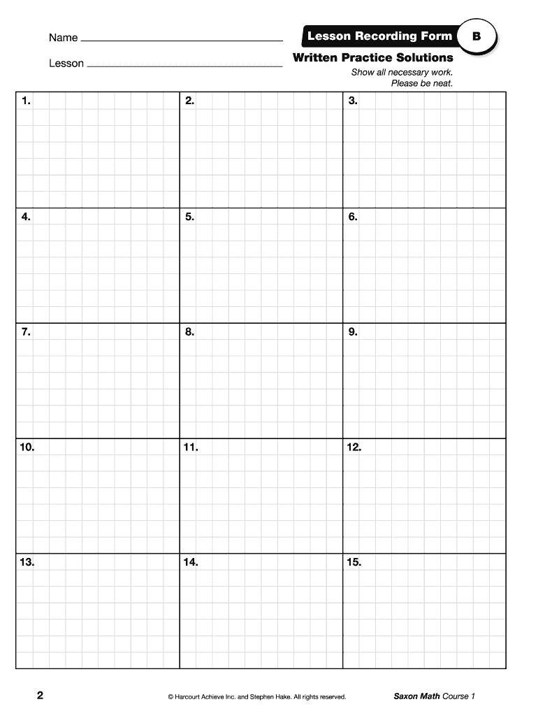 hight resolution of Saxon Math Grade 1 Worksheets Pdf - Fill Online