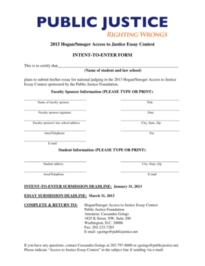 Fillable Online law virginia (Name of student and law