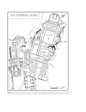 Fillable Online Figure 1 Plan of the area of the Forum