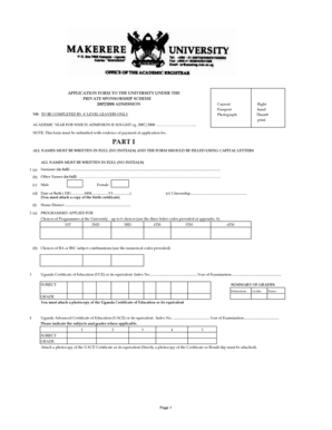 Fillable Online PRIVATE bAPPLICATIONb FORMS-1 Fax Email