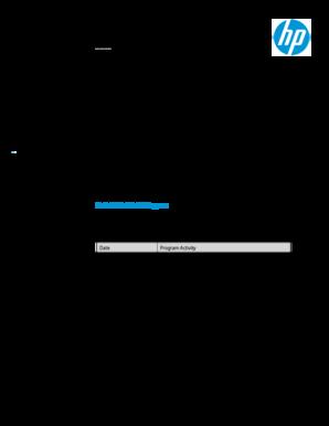 Fillable Online Hewlett-Packard (HP) is announcing version