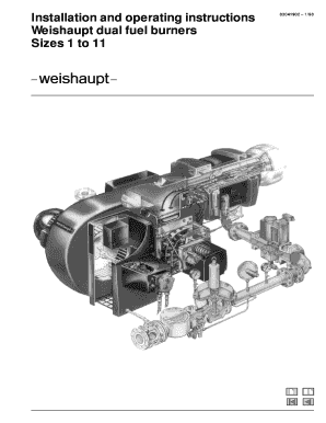 WEISHAUPT BURNER MANUAL DOWNLOAD