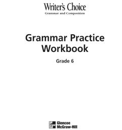 Glencoe Grammar And Composition Handbook Pdf - Fill Online [ 1024 x 770 Pixel ]