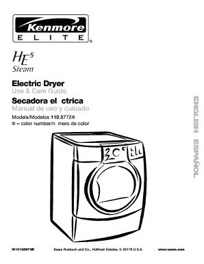 Fillable Online Electric Dryer Secadora elctrica
