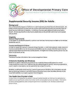 ssi reconsideration approval - Edit Fill Print ...
