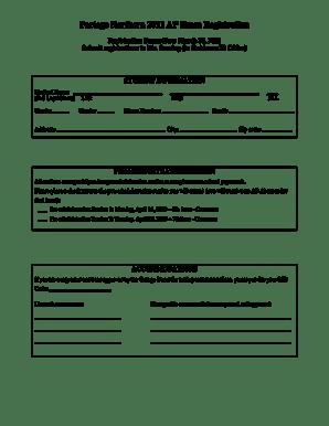 Fillable Online portageps 2005 AP Exam Registration