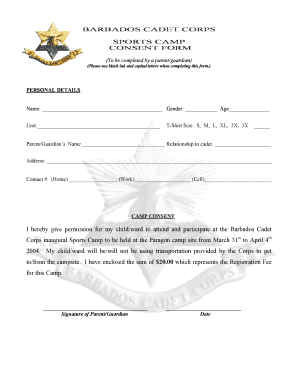 consent letter for sports to Download in Word & PDF
