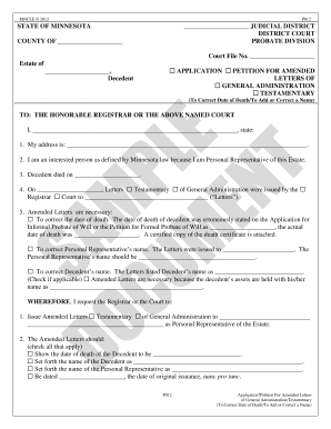 Bill Of Sale Form Petition For Letters Of Administration