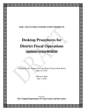 Fillable Online vaswcd Desktop Procedures for District