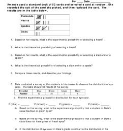 Probability Worksheet 4 Answer Key - Fill Online [ 1024 x 770 Pixel ]