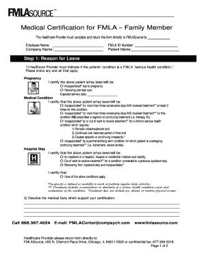 18 Printable fmla forms for pregnancy Templates - Fillable ...