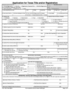 Texas Vehicle Transfer Notification >> Texas Motor Vehicle Transfer Notification Form - impremedia.net