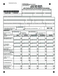 2016-2018 Form CO DoR DR 0100 Fill Online, Printable ...