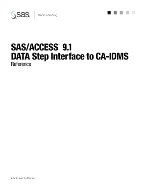 Fillable Online SAS/ACCESS 9.1 DATA Step Interface to CA