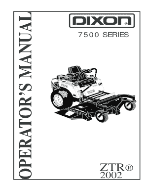Fillable Online 7500 Series Manual-MY2002. 7500 Series
