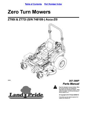Fillable Online ZT60i & ZT72i (S/N 748109-) Accu-Z Fax