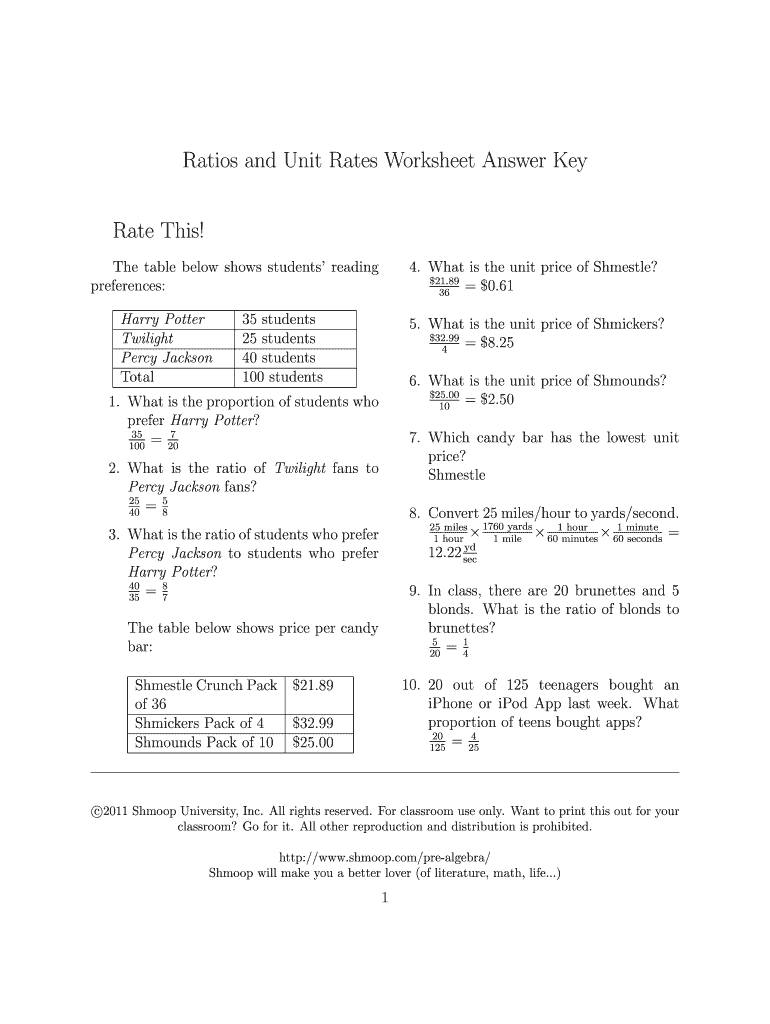 hight resolution of Convert Unit Rates Worksheet Answers - Nidecmege