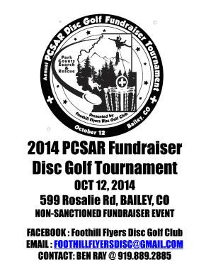 Fillable Online 2014 PCSAR Disc Golf Tourney.pdf
