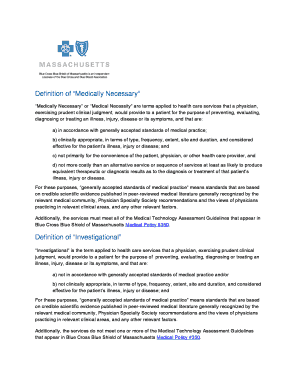 Printable not medically necessary definition to Submit in ...