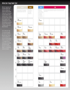 Fill online also fillable wella color tango shade chart fax email print rh pdffiller