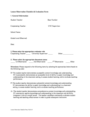 General Evaluation Template Forms - Fillable & Printable Samples for ...