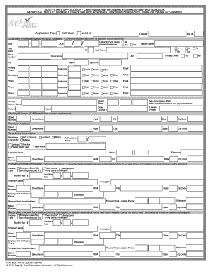 27 Printable Corporation Credit Application Form Templates
