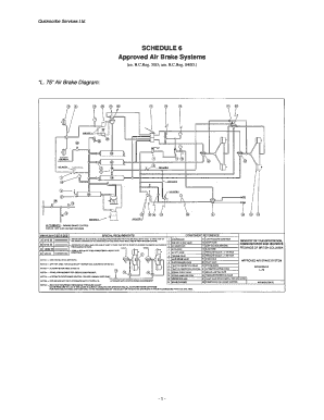 Submit air brake system diagrams Online in PDF