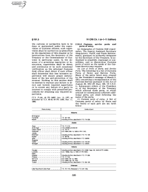Printable customs power of attorney form designation of