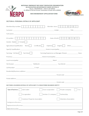 Fillable Online NERPO Membership Application Form.indd Fax