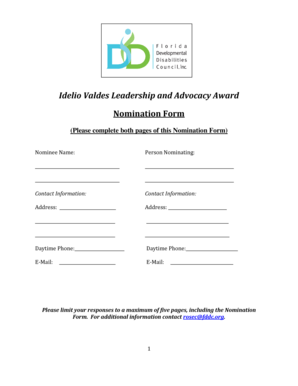 Fillable Online fddc Idelio Valdes Leadership and Advocacy