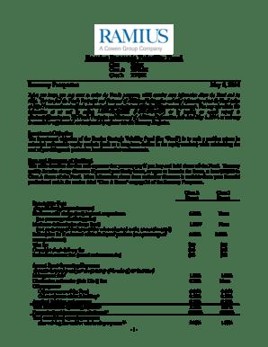 Fillable Online Ramius Strategic Volatility Fund Class