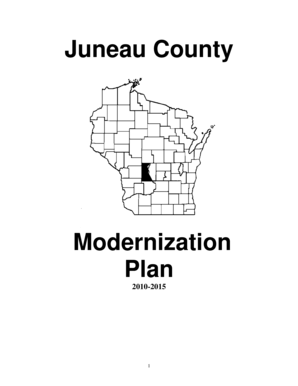 Fillable Online Juneau County Land Records Modernization