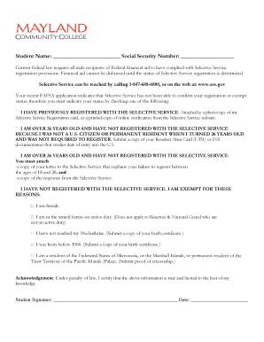 Selective Service Registration Form   Selective Service Registration Green Card Cardjdi Org