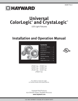 Fillable Online BUniversalb ColorLogic and CrystaLogic