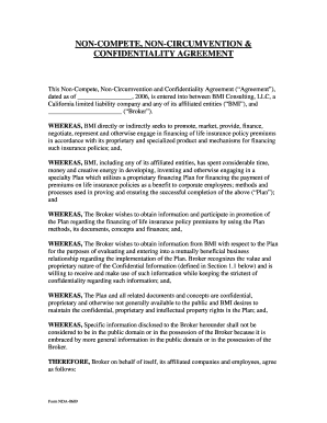 Employee hereby covenants and agrees that, during employee's employment with company and for a period of two (2) years immediately following the termination of such employment, whether voluntary or involuntary, 22 Printable Noncompete Agreement Forms And Templates Fillable Samples In Pdf Word To Download Pdffiller