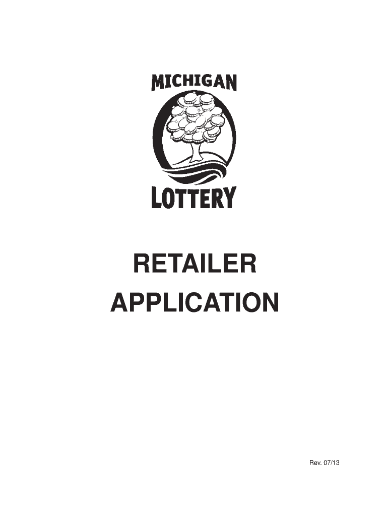 2013 MI Lottery Form BSL-S-685A Fill Online, Printable
