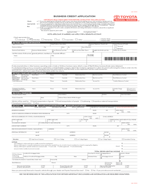 Toyota Application Pdf Fill Online Printable Fillable