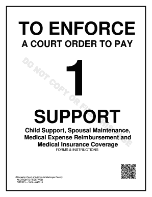 Maricopa County Medical Expenses Child Support