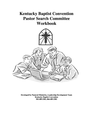 Kentucky Baptist Convention Pastor Search Committee
