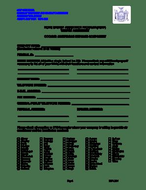 Fillable Online otda ny HEAP Vendor Agreement Cooling